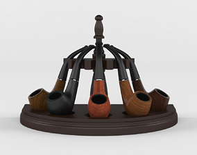 Tobacco Pipe 3D
