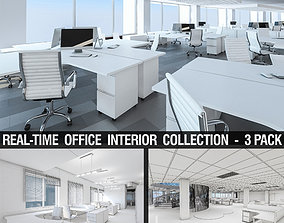 Office Interior Collection - 3 Pack 3D model game-ready