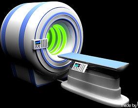 MRI Unit 3D model tomograph