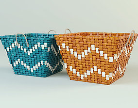 3D model Coloured Baskets by ZARA HOME