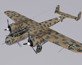 3D Dornier Do-17Z Trop