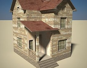 House Two-Story 02 3D model
