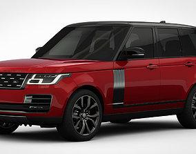 3D Range Rover SVAutobiography Dynamic 2018 detailed