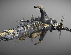 3D asset Space Force 1 Cruiser