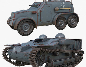 Tank Collection Vray 006 3D model