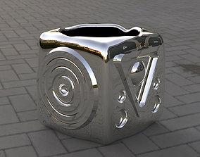 Vase cube 3D print model