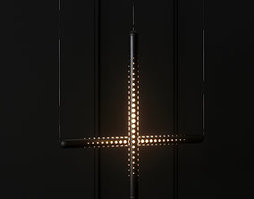 Tom Dixon Tube Light - Horizontal and Vertical 3D
