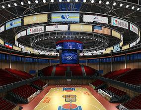 Basketball Hall 3D model