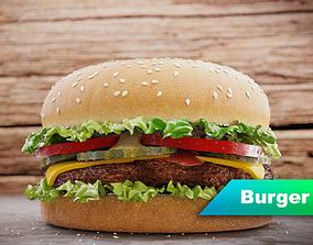 Burger 3D PBR
