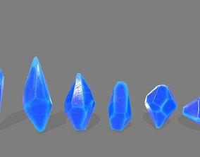 crystal set 2 3D model