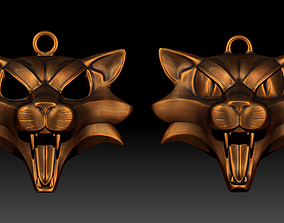 Cat School Medallion 3D printable model 3dprint