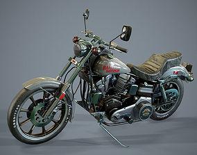 3D model Harley Davidson 1977 fxs LowRider