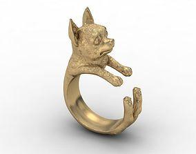 3D print model Chihuahua dog ring