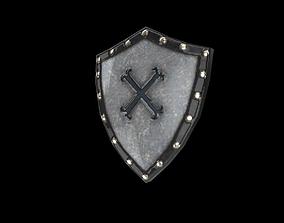 Shield 3D asset low-poly