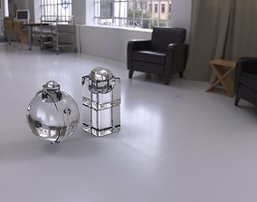 3D Potions flasks