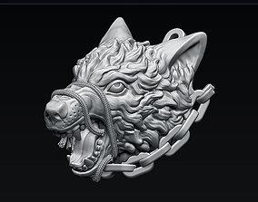 Freedom Wolf 3D printable model head