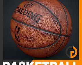 3D model Spalding NBA Official Dirty Game Ball