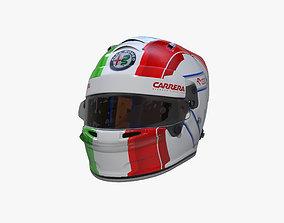 3D model Giovinazzi helmet 2020