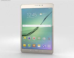 Samsung Galaxy Tab S2 8-0-inch LTE Gold 3D model