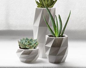 3D printable model Geometric Planters - Type 1