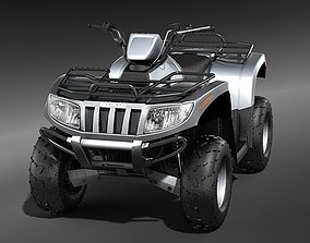 3D model ATV QUAD AC700