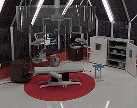 3D model reanimtion room