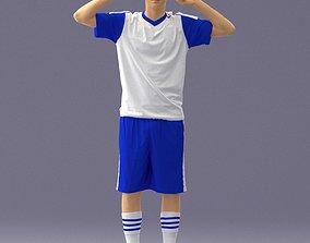 3D Soccer player 1114-10