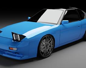Nissan 180sx 3D