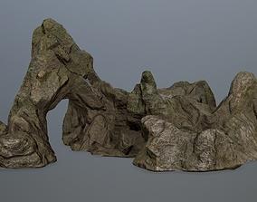 3D asset rock gate