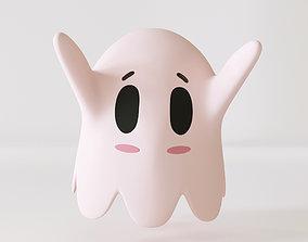 3D asset Cute Ghost