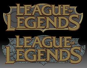 League of Legends Logo for 3D printer or CNC router