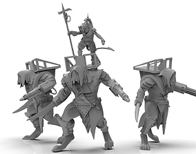 Cheese Stealer Cult - Warlord of Ogre 3D print model