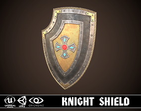 Knight Shield 02 3D model