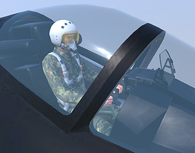 Aircraft SU-57 3D