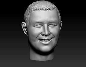 3D print model Male head 32