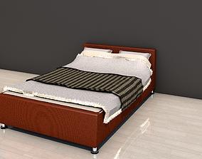 stripe 3D model Double BED