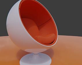 globe Ball chair 3D model