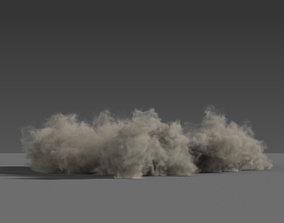 Dust wave Explosion 03 VDB 3D
