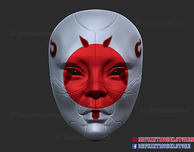 3D print model Geisha Mask - Ghost in the Shell