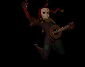 3D print model Jester - Darkest Dungeon