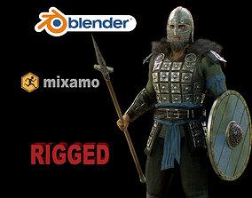 viking 4 3D asset