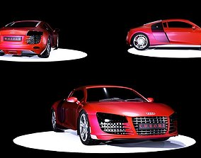 Audi R8 3D Model audir8