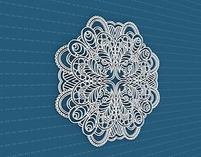 interior cnc Mandala 3D