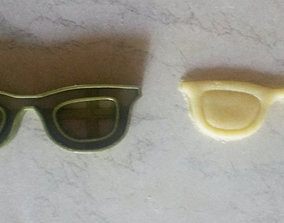 Sunglasses cookie cutter 3D print model