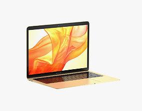 Macbook Air 2018 13 inches Gold 3D