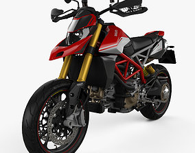 3D Ducati Hypermotard 950SP 2019