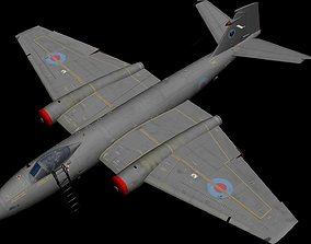 Canberra PR9 3D animated