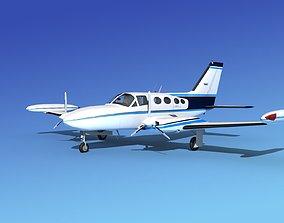 Cessna 421 Golden Eagle V07 3D