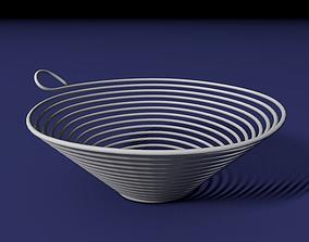 3D print model Spiral bowl