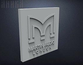 3D print model Badge Martin Audio London